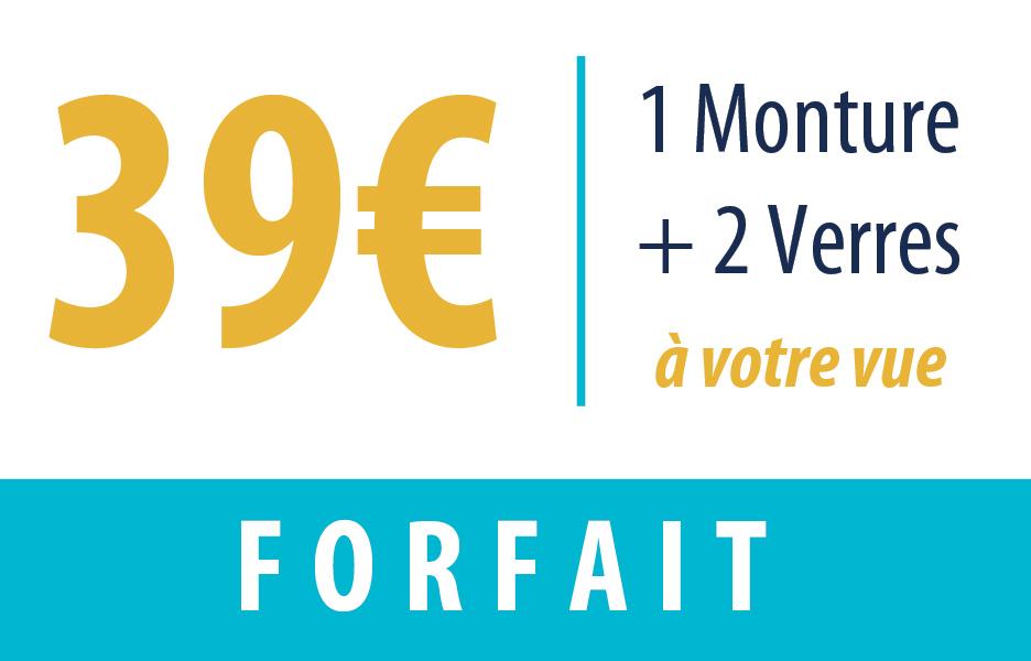 forfait 39 euros